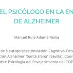 El papel del psicólogo en la enfermedad de Alzheimer