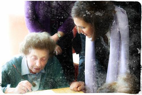 Comunicarse con una persona con Alzhéimer