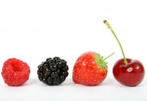 Los frutos rojos ayudan a mantener la agudeza mental y evitar la pérdida de memoria