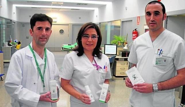 Enfermeros de hospitales usan aceite farmaoliva olicopiel ara curar y prevenir ulceras por presion y escaras
