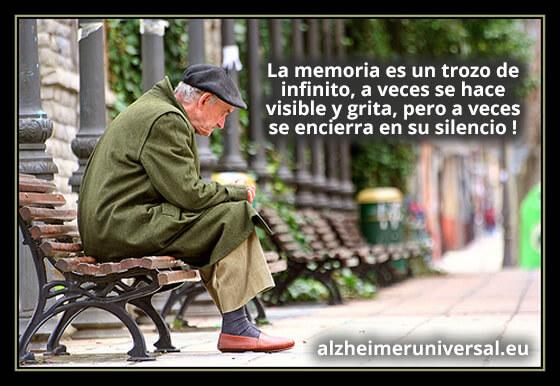 La memoria es un trozo de infinito, a veces se hace visible y grita, pero a veces se encierra en su silencio !