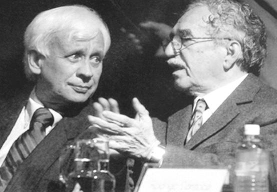 García Márquez escribió el prólogo del libro El cerebro y el mito del yo del Dr. Rodolfo Llinás.