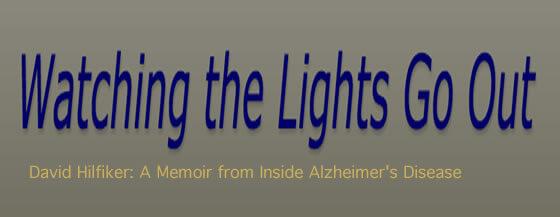 """""""Viendo las luces apagarse"""", el blog de un enfermo de Alzheimer"""