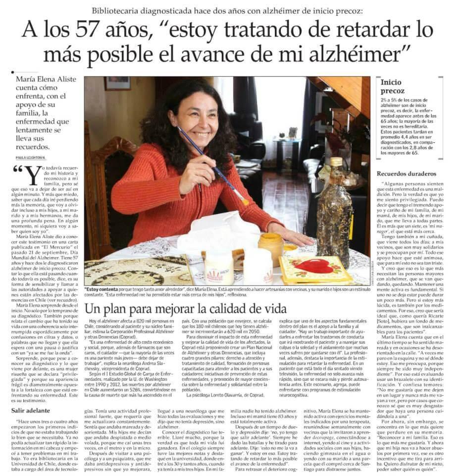 Maria-Elena-Alisten-Chile-Alzheimer-Precoz-57-anos