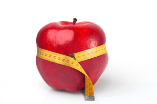 obesidad-manzana
