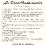 Los 12 Mandamientos de Pablo A. Barredo