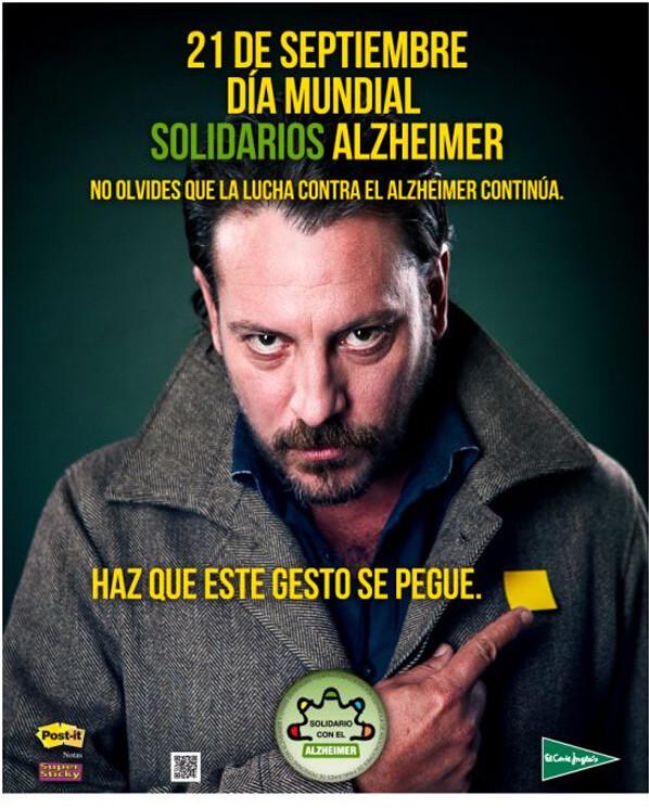 slogan y cartel dia mundial alzheimer2014