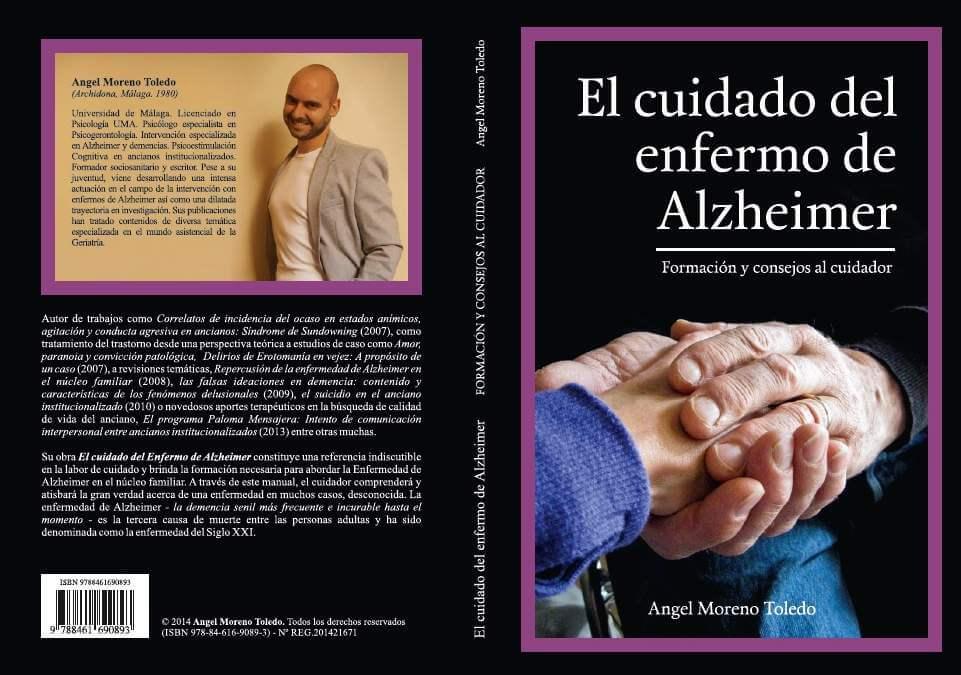 Cubierta Libro Cuidado Alzheimer Angel Moreno Toledo
