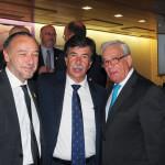 Julio Zarco con Javier Urra y Jesús Sanchez Martos Autor: Juan Luis Jaén