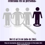 Curso online gratuito «La atención integral centrada en la persona en la atención sociosanitaria»