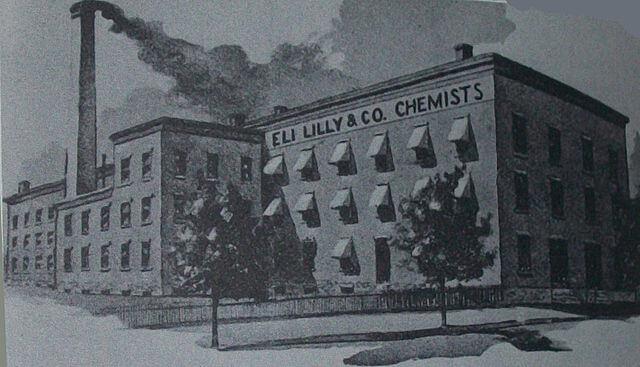 By Eli Lilly and Company [Public domain], via Wikimedia Commons