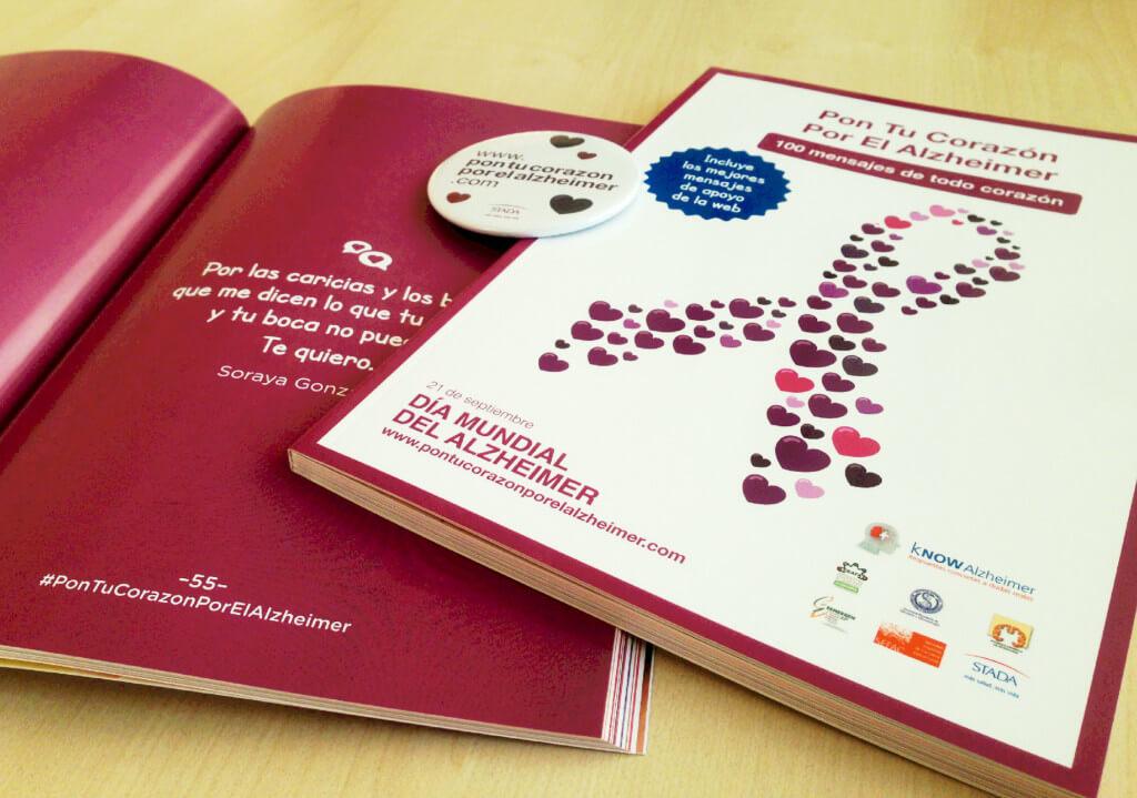 """kNOW Alzheimer presenta el libro """"100 mensajes de todo corazón"""" libro-knowalzheimer.com-mensajes-corazon"""