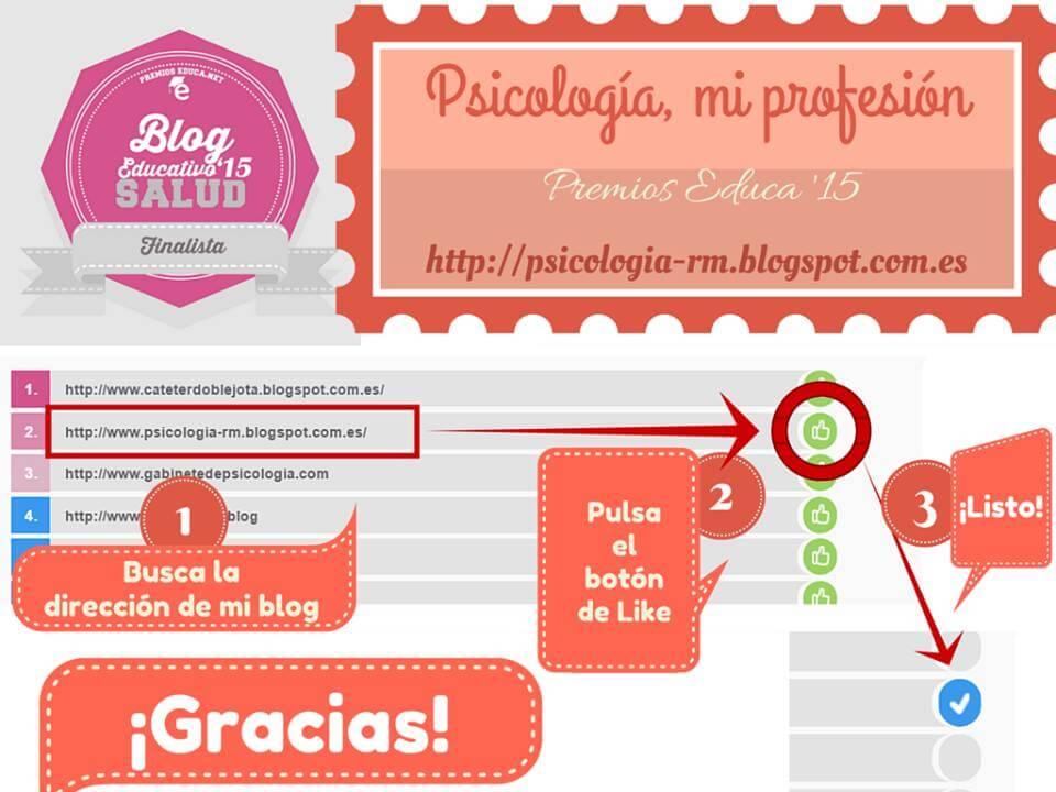 Rocío Medina Premios Educa 2015 Psicología