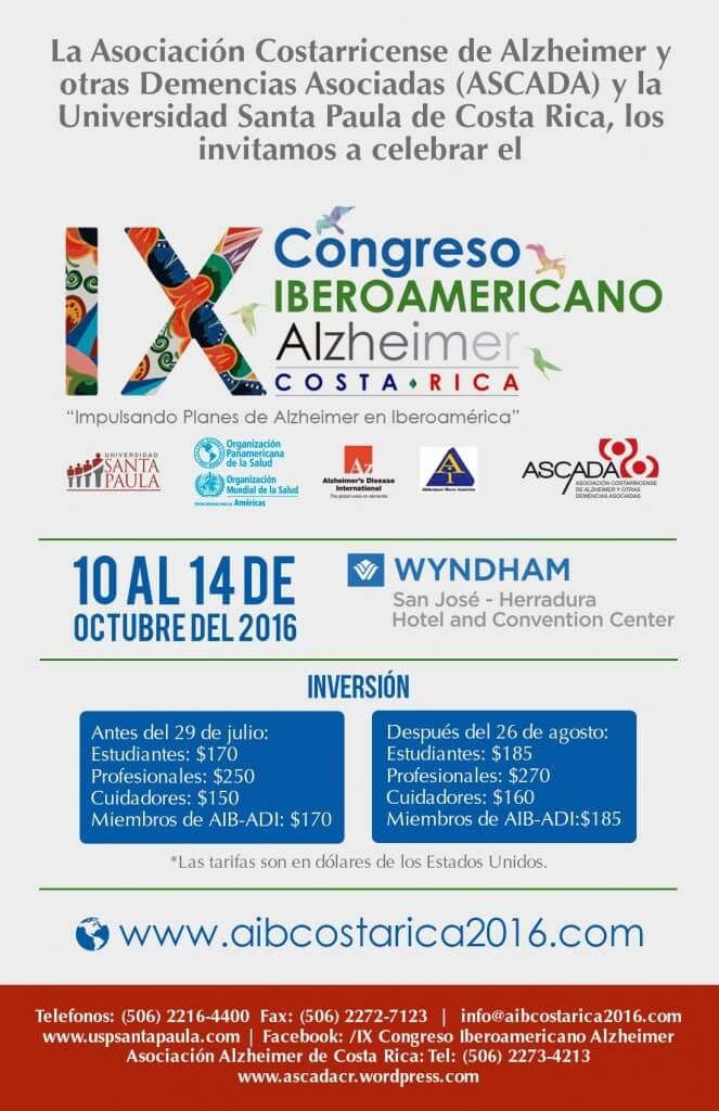 IX Congreso Iberoamericano de Alzheimer congresos_alzheimer_costarica19497594