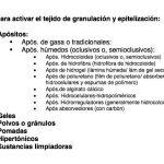 Productos en el tratamiento de úlceras por presión (upp) y otras heridas