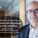 Jordi Cami hablará de Prevención del Alzheimer (jueves 7 de julio)