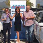 Taxistas de Palma de Mallorca se solidarizan con el Alzheimer