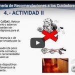 Decálogo Enfermero de Recomendaciones al Cuidador Principal (Vídeo)