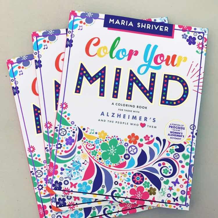Un Mundo sin Alzheimer: Colorea con el Libro de Maria Shriver