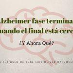 Alzheimer fase terminal, cuando el final está cerca