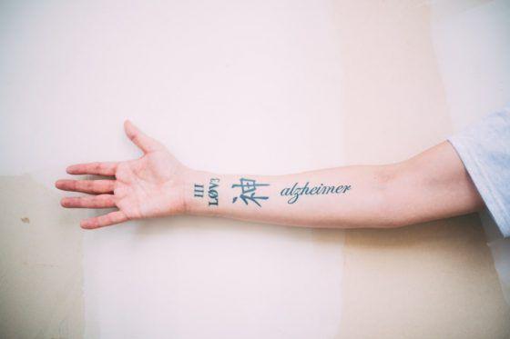 El tatuaje del Alzheimer
