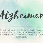 Precioso Poema sobre el Alzheimer