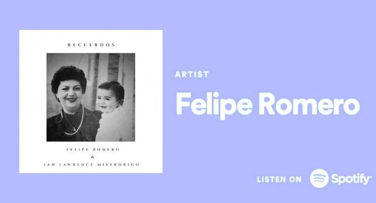 """""""Recuerdos"""", una Canción interpretada por el Colombiano Felipe Romero"""