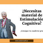 Material de estimulación cognitiva para personas mayores