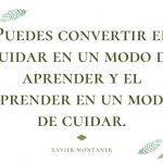 Nuevo Libro para Cuidadores de Xavier Montaner: Me Cuido, Te Cuido