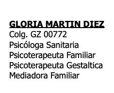 Gloria Martín Díez