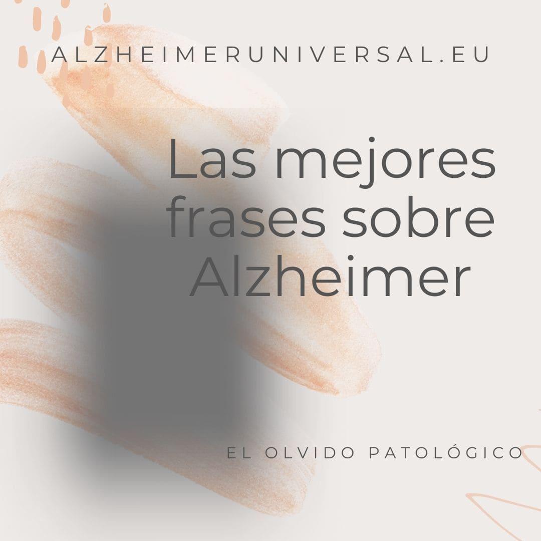 Frases para el Día del Alzheimer